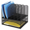 Black Wire Mesh Office Desk Organizer