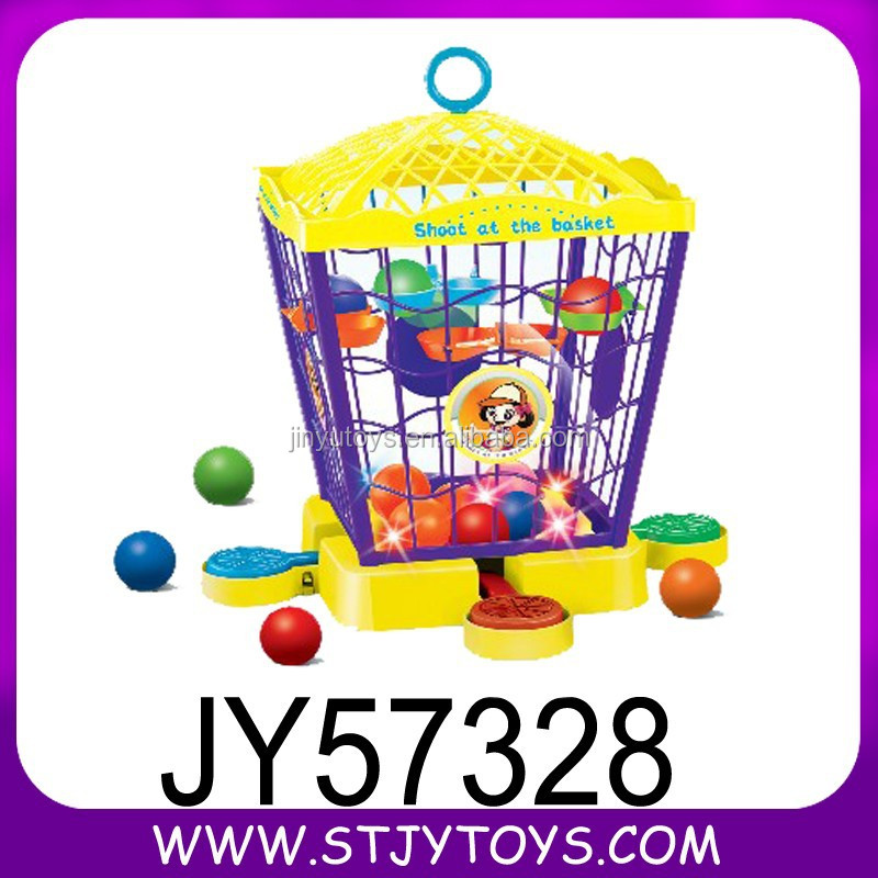 2015 newly educational kids indoor sport amusement electronic basketball game