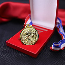 Fashion Cheap Award Metal Round Custom Medals with Ribbon