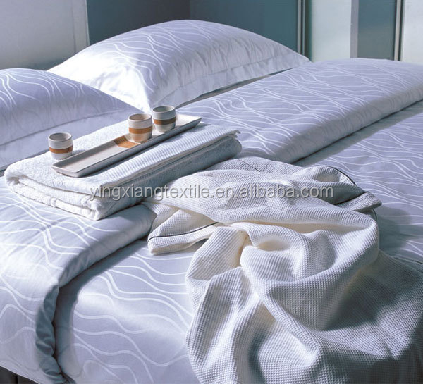 100% cotton 250//300/400/1000/1200/1600 thread count sateen/sateen strip bed sheets sheeting fabric