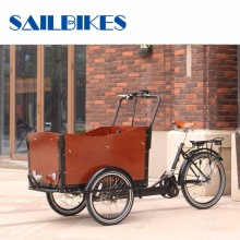 Factory Directly Three Wheel Family Used Pedal Cargo Tricycle
