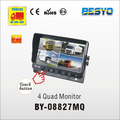 "HD 7""CCTV monitor,safty rear view monitor rearview camera system BY-08827MQ"