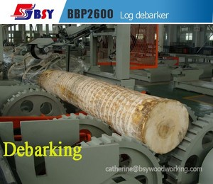 Wood Tree Log debarking Machine