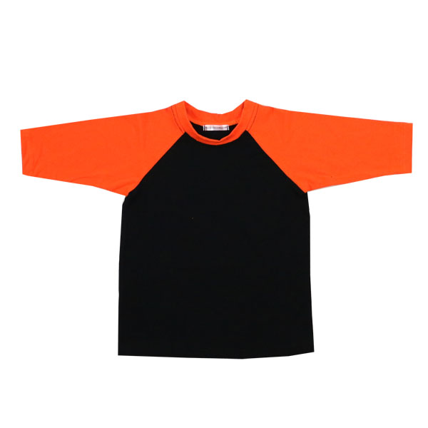 Wholesale latest boutique shirt designs for boys long sleeve halloween raglan t shirt halloween costumes for kids