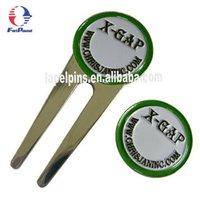 Iron Die Struck PGA Divot Tool and Ball Marker