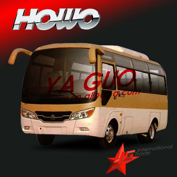 howo 25 seater bus