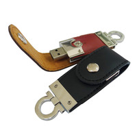 New Products 2016 Wholesale Cheap Bulk 1GB Leather USB Flash Drive Capacity from 1GB to 64GB Custom USB Flash Drives