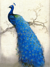 WALL ART PAINTING ON CANVAS NEW Style with peacock