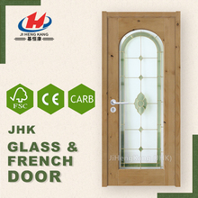 JHK-G03 1 Panel Decorative Cafe Bathroom Entry Door Glass Inserts