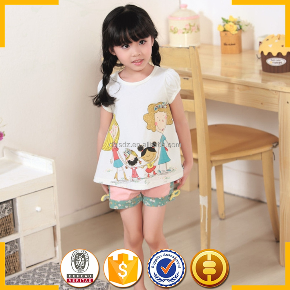 Wholesale guangzhou baby girl children 100 cotton fabric for Cotton fabric for children s clothes