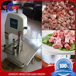 Livestocks pig cow pork ribs cutting machine frozen meat and bone saw