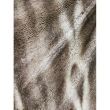 STABILE New style berber check polyester fleece sherpa faux fur fabric