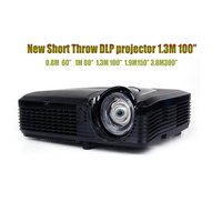 Multimedia 4500 Lumens DLP Short throw Projector 1080P