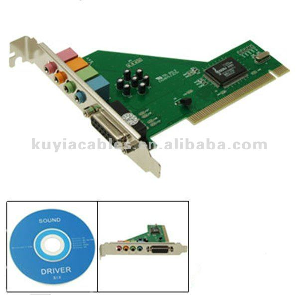 C-Media CMI8738 4 Channel PCI Sound Audio Card