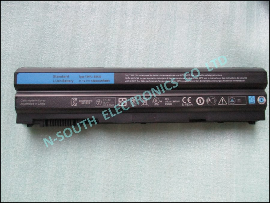 laptop battery for dell latitude e5420 e5220 e6420 e6520 t54fj Bateria