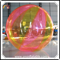 Hot sell inflatable water walking ball, inflatable water balloon, floating hamster water sphere from china manufacturer
