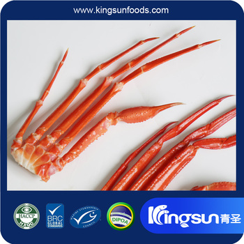 2017 New Production Frozen BQF Red Snow Crab Cluster in good price