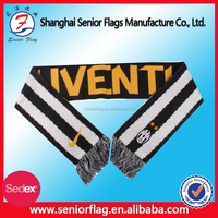 Wholesale Custom Satin Polyester Printed Sport Fan Scarf
