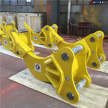 Heavy construction equipment hydraulic vibro ripper