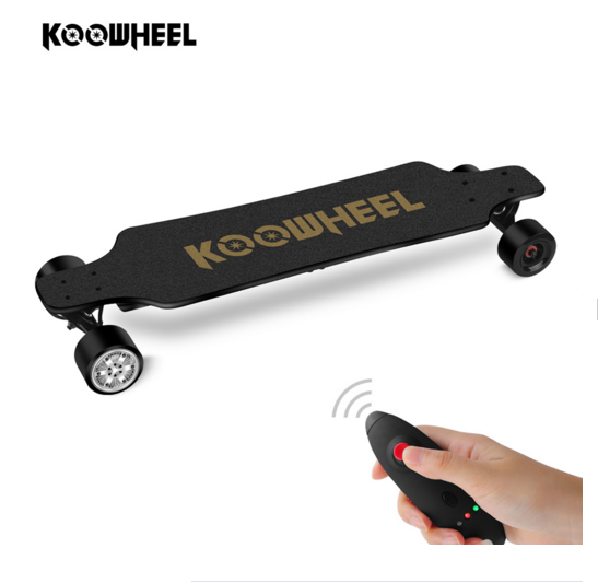 Faster Speed 43km/h Kooboard Koowheel D3M 2nd Generation Electric Longboard Boosted Electric Skateboard With Replacement Wheel