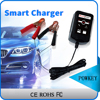 Suoer automatic smart lead acid portable 12V 6A portable car battery charger with CE RoHS