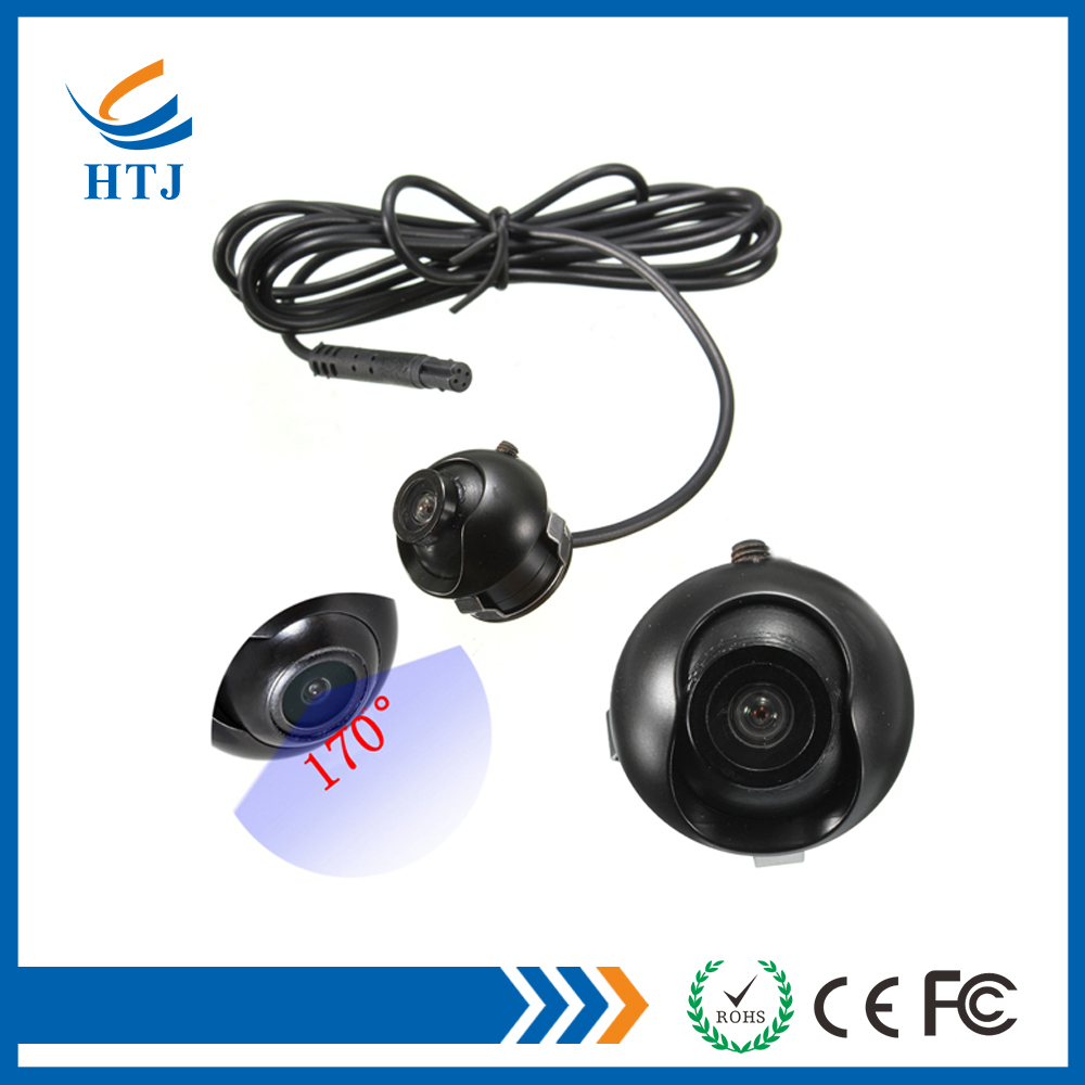 Rotation 360 degree wide angle backup rear view car reverse camera