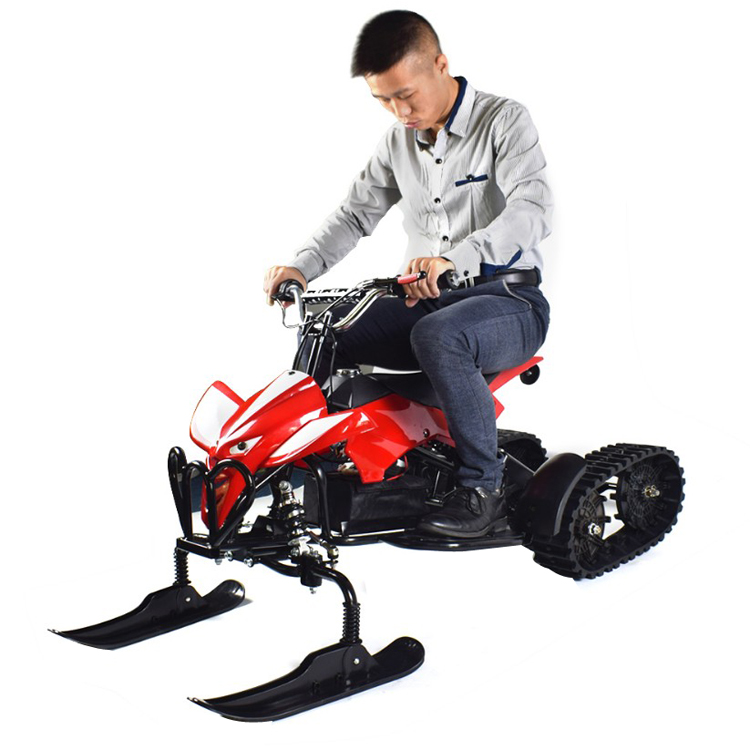 2018 Hot sales max speed 20km/<strong>h</strong> electric snow track mobile kids snow racer scooter