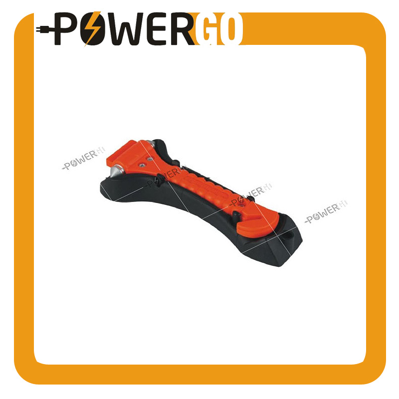 Emergency Escape Tool Auto Car Window Glass Hammer Breaker and Seat Belt Cutter Escape 2-in-1 Tool