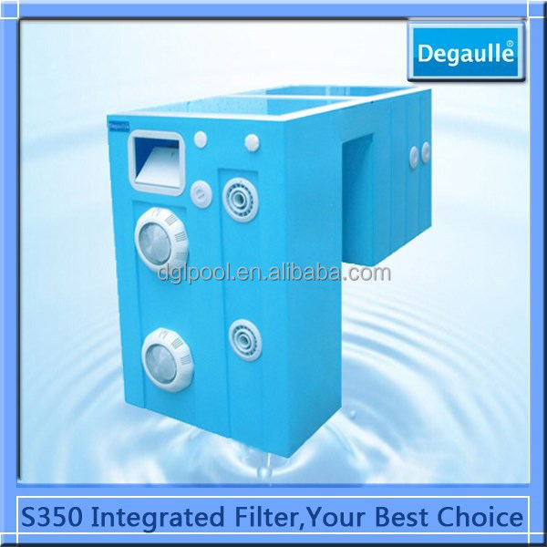 Guangzhou Factory Pipeless swimming pool filtration equipment/water treatment for pool
