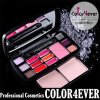 Xmas Brand new 15 colors Eyeshadow blusher eyebrow power Makeup Palettes eyeshadow bright