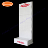 Custom retail industrial shop trade show display expositor exhibition heavy weight tools cell phone accessory case with shelves
