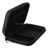 PU Leather Hard Travelling Carrying Case Bag fits GPS,Smartphone,Hard Drive