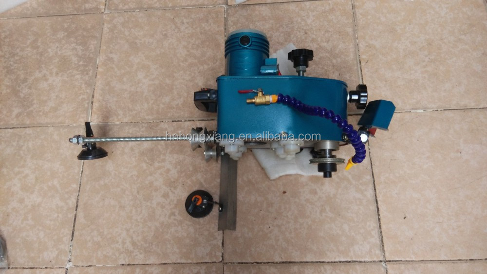 Blue color Manual portable glass grinding polishing edging machine for hand use