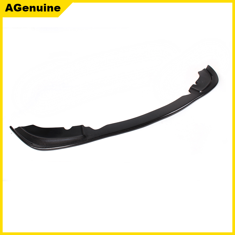 High quality Real carbon fiber front end diffuser front spoiler apron front bumer lip for BMW 3 series E46