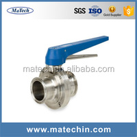 OEM Precision Water Supply High Pressure Butterfly Valve Handles