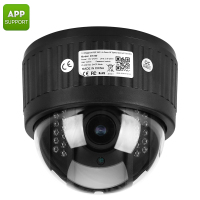 Aluminum Metal Housing Long Range IR Night Vision HD Dome 2.8-12mm Varifocal Lens IP Camera