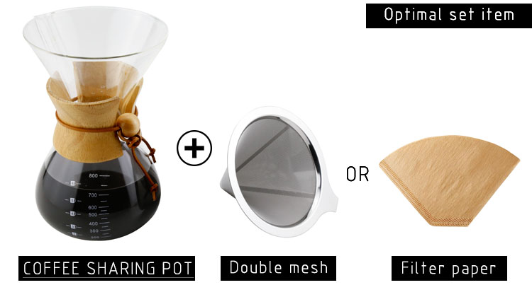 high borosilicate coffee maker pot