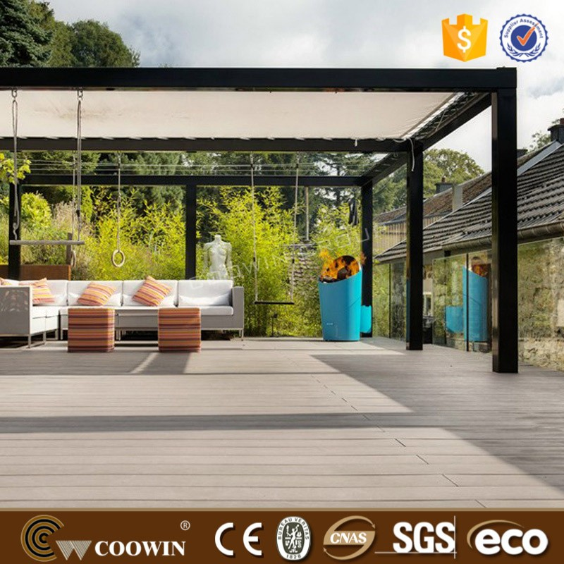TW-K01 eco outdoor WPC decking
