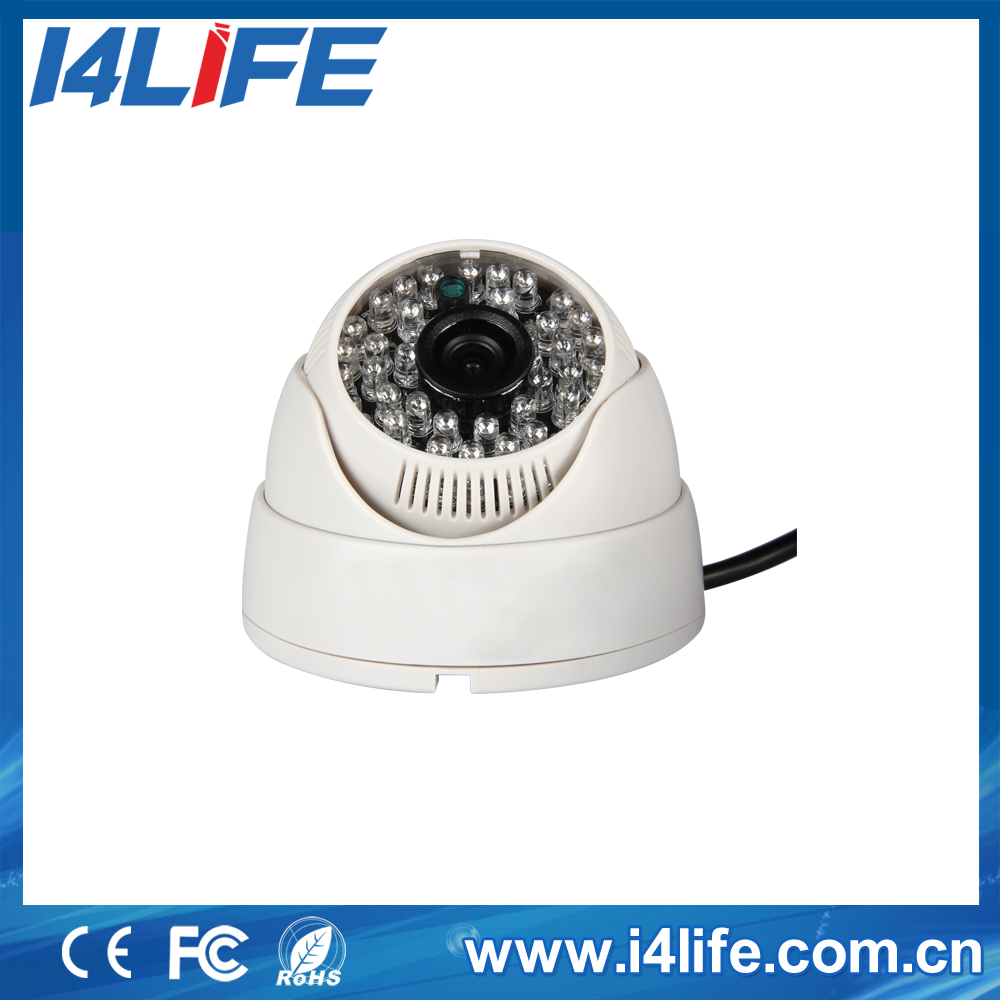 ahd mini camera analog type safety camera plastic dome ahd camera with new type infrared leds