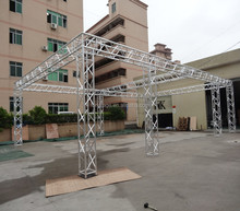 Cheap used lighting truss/aluminum truss system in flat roof for sale