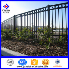 Steel Manufacture Galvanized Ornamental Aluminum gothic fence pickets