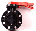 alibaba china epdm lined pvc butterfly valves handles wafer types 5 inch