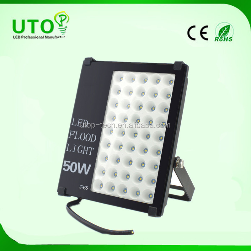 Cold white color outdoor 220 volt 50W led flim flood light