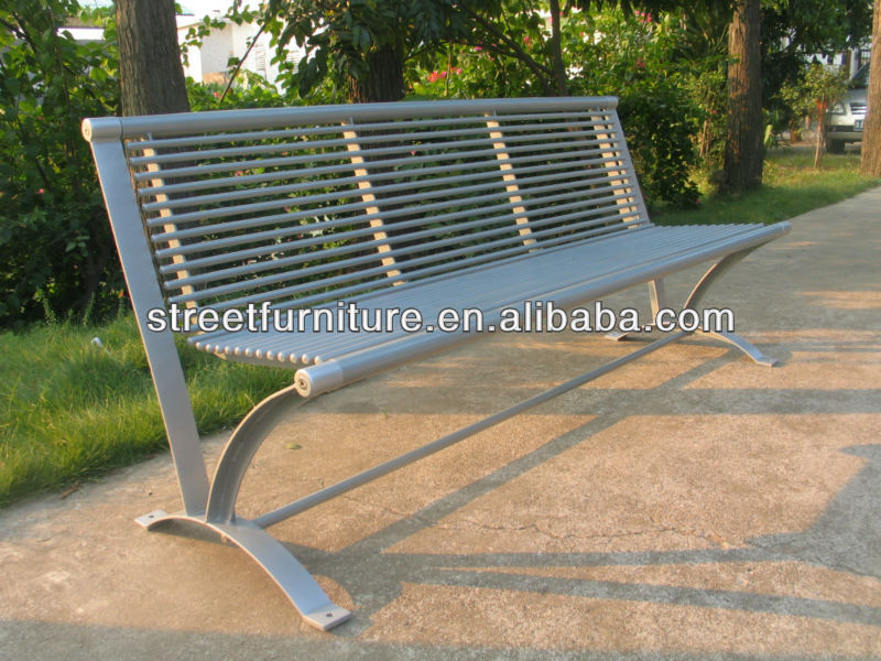 Hot-sale durable metal park bench for sale,used park benches