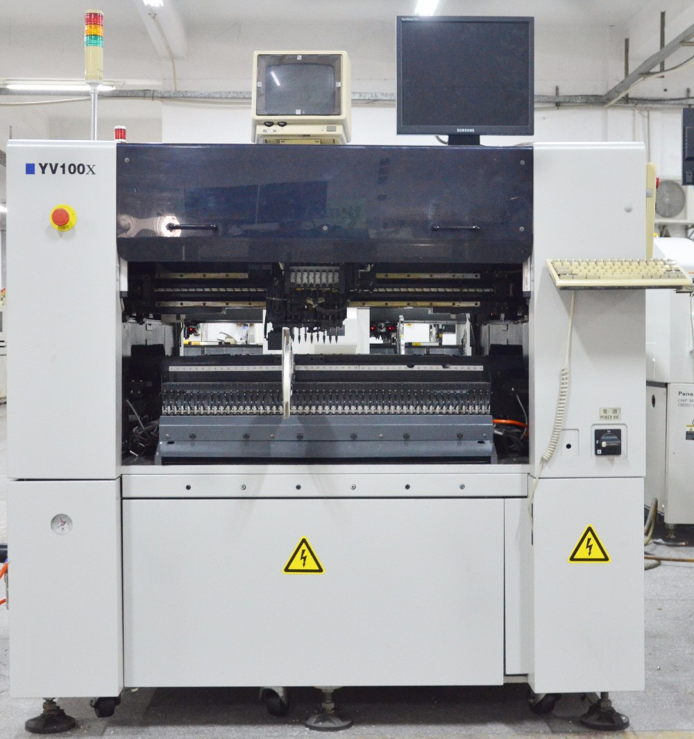 Second hand smd pcb making machine yamaha yv100x automatic pick and place machine