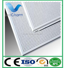 Supplier aluminum perforated ceiling panel for office