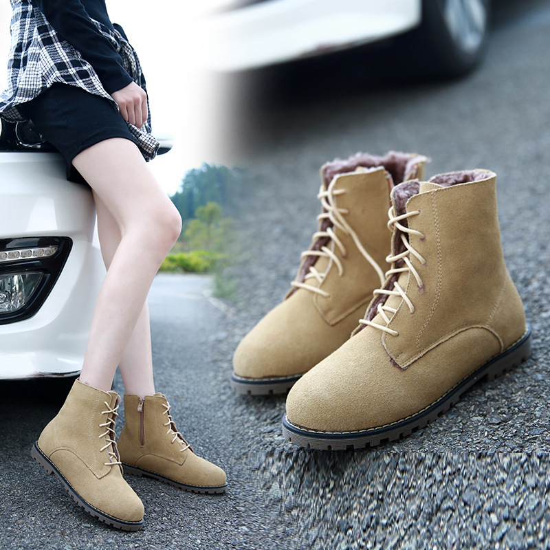 Casual marten boots women shoes 2016 stylish ladies shoes