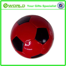 2014 new design High Quality Logo Printed Sport Football promotional bubble real leather soccer ball