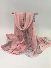 sewn by hand or machine digital printed pashmina