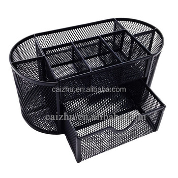 Wire Office Mesh Desk Collection Caddy Buy Desk